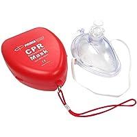 Primacare Medical Supplies RS-6845 Wiederbelebungsmaske, mit fester Kunststoff-Transporthülle, Rot preisvergleich bei billige-tabletten.eu