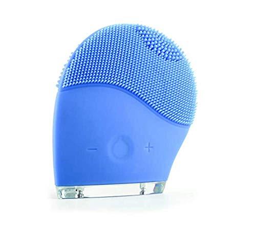 M&M Silikon Cleanserwaterproof Multifunktionale Elektrische Gesichts Reinigungsbürste (Blau)