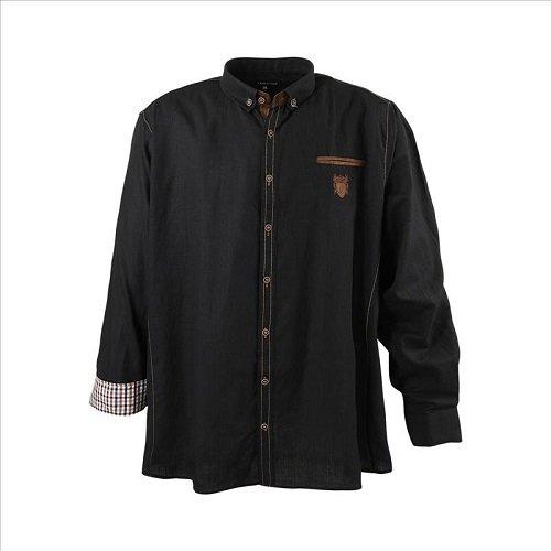 lavecchia-chemise-business-homme-noir-xxxx-large
