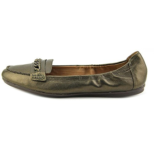 Easy Spirit e360 Gilford Large Cuir Ballerines Bronze