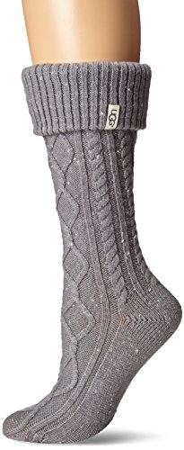 UGG Shaye Tall Rain Boot Socks (Seal, Shoe Size 5-10)
