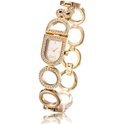 Watch Gold Crystal D&G Day & Night 3719251076