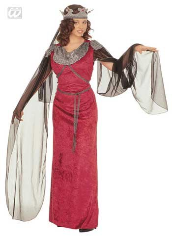 Guinevere Kostüm Mittelalter (Mittelalter Kostüm Guinevere Gr.)