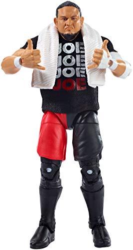 WWE Elite Figura de Acción Luchador Samoa Joe, Juguetes Niños 8 Años (Mattel GCL21)