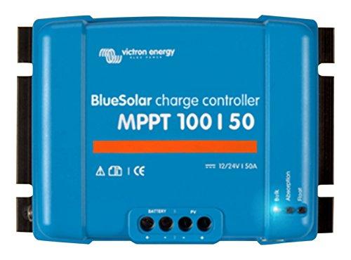 Preisvergleich Produktbild Victron Energy Bluesolar MPPT 100/50, 12-24 V, 50 A, Solarladeregler VE Direct, 1 Stück, SCC020050200