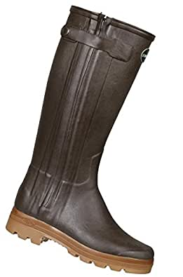 bottes sur mesure femme le chameau chasseur cuir - marron pointure 41 - m40