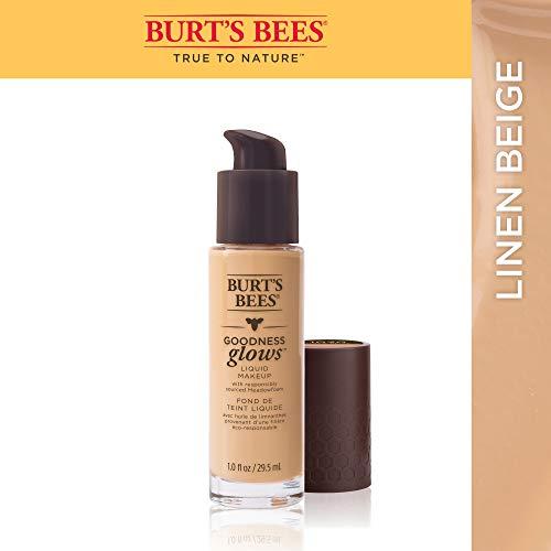 Burt's Bees  Goodness Glows Flüssige Foundation, Linen Beige, 29.5 ml - Beige Flüssig-foundation