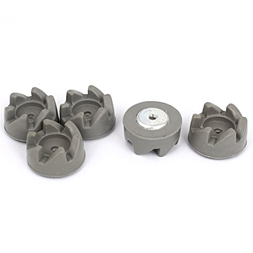 Gummi Kitchen Aid 6 Tooth Blender Kupplung Clutch 34mm Dia 5Pcs Grau