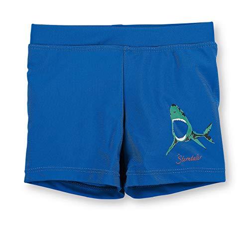 Sterntaler Kinder Jungen Badeshort mit Windeleinsatz, UV-Schutz 50+, Alter: 5-6 Monate, Größe: 68, Blau