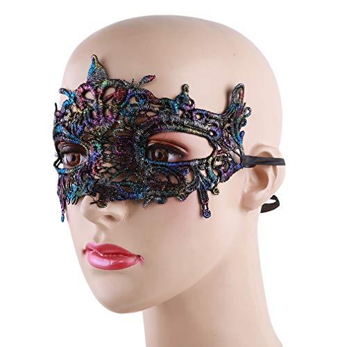 Pinhan Masquerade Lace Ausschnitt Maske Sexy Halloween Party -