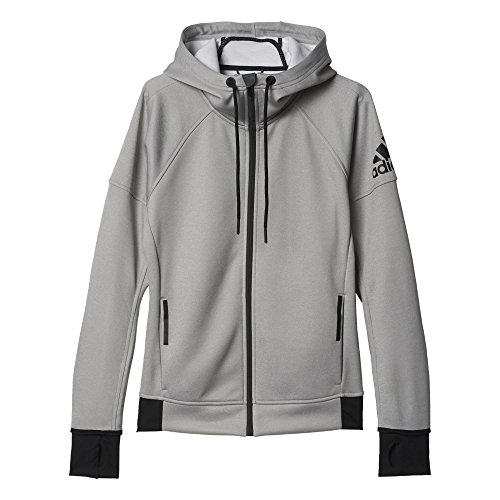 adidas Damen Sweatshirt DAYBREAKER HOOD, Grau, L, 4056561299625