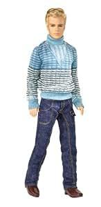 Mattel - M9330 - Poupée - Barbie - 1 Poupée Fashion Fever - Ken Doll Blue Jeans
