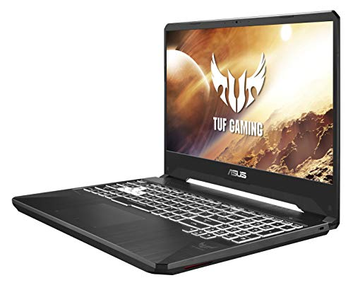 Asus TUF505DT-BQ326T PC Portable Gaming FHD NanoEdge (AMD R5, 16Go de RAM, 512Go SSD, Nvidia GTX 1650 4Go, Windows 10) Clavier AZERTY Français