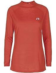 iMotion Camiseta–Rust–Woman–Rojo–Tamaño L–Para Mujeres