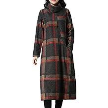 b27d2b57ccd666 Quaan Winterkleider Damen Pulloverkleid Strickkleid Lang Pullover Kleid  Winter Wollkleid Schöne Günstige Kleider Pulli Sweatshirt