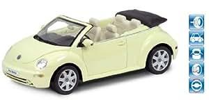 Welly - Voiture miniature - Volkswagen New Beetle Convertible - 1:18 - Crème