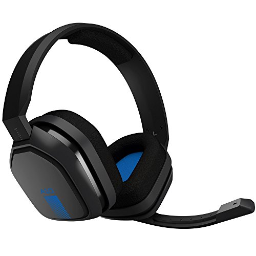 Astro Gaming A10 Headset (PS4Xbox OneMobile)Grey/Blue [PlayStation 4Xbox One ] (10 Wireless-headset)