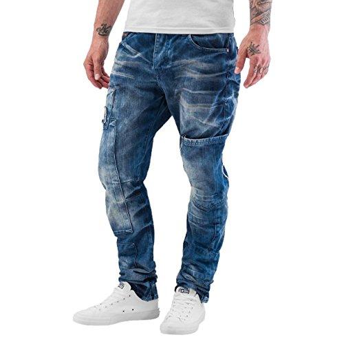 Cipo & Baxx Herren Jeans / Straight Fit Jeans Tajo JEANS HELLBLAU