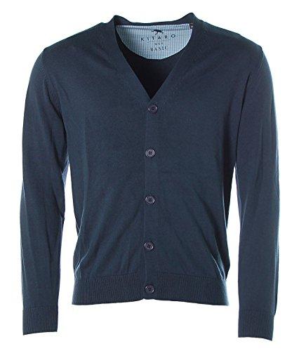 Kitaro -  Giacca sportiva - Collo a V  - Maniche lunghe  - Uomo blu - ink blue