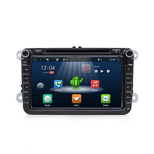 YUNTX Android 7.1 Autoradio GPS para VW Golf Seat Jetta Passat Polo...