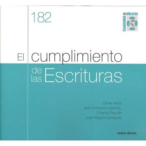 El cumplimiento de las Escrituras: Cuaderno Bíblico 182