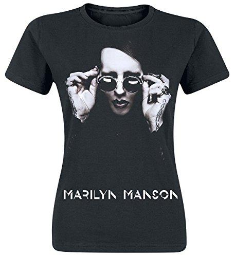 Marilyn Manson Specks T-shirt Femme noir L