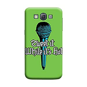 MakemyCase Samsung A3 Sweet It While Its Hot 3D Matte Finishing Printed Designer Hard Back Case Cover (White)
