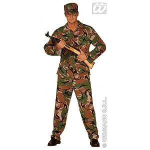 WIDMANN cs924433/S?Disfraz?Disfraz Commando, Talla S