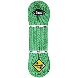 BEAL C100.80 - Cuerda de escalada, color blanco (vert), talla 10 mm x 80 m