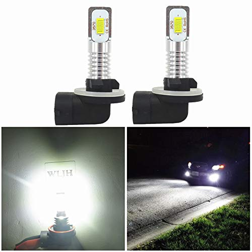 Wljh 6000K xeno bianco super luminoso 881LED fari lampadine 862886888889894896898High Power 3570CSP chip nuova versione LED per guida nebbia luci lampadine di ricambio (confezione da 2)