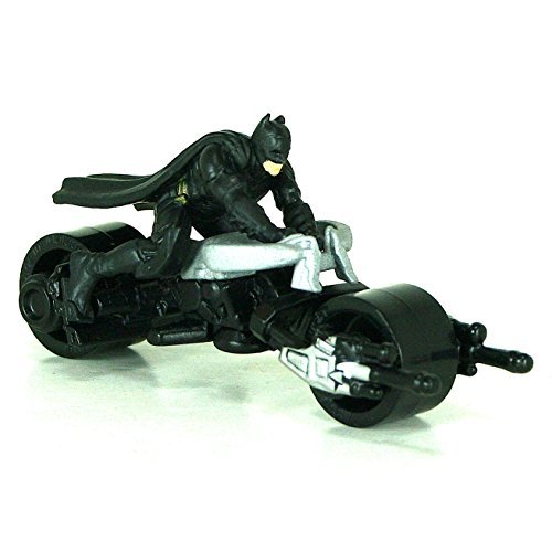 Hot Wheels BAT-POD 1:64 Scale Motorcycle with Rider by Hot Wheels