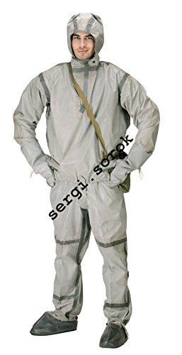 Chemische Kostüm Anzug - Anzug für die Sowjetarmee, chemischer Schutz, Gummi, L-1