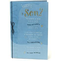 Special Son Geburtstagskarte–Was ist ein Sohn?