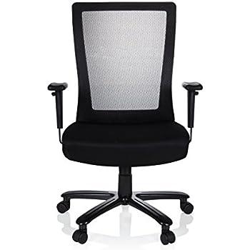 Ergonomischer Bürostuhl für große und schwere Menschen/ Leute - machen Sie den Test