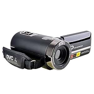 PowerLead P301 HD 1080P IR di visione notturna 24.0 Mega pixel migliorato fotocamera digitale con zoom 16x DV 2.7 TFT LCD HDV video videocamera di rotazione Touchscreen Video Recorder (PL001)