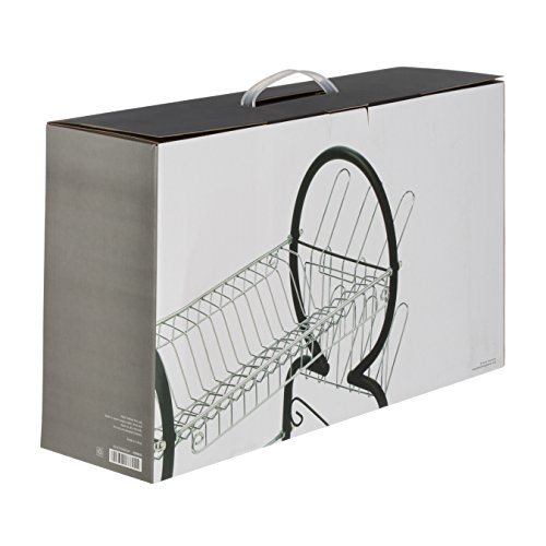 Premier Housewares 2-Tier Dish Drainer, 56 cm - Black Img 2 Zoom