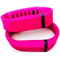 ! 2pcs Small S Purple / Pink Replacement Bands + 1pc Free Small Grey Band With Clasp for Fitbit FLEX Only /No tracker/ Wireless Activity Bracelet Sport Wristband Fit Bit Flex Bracelet Sport Arm Band Armband - preisvergleich