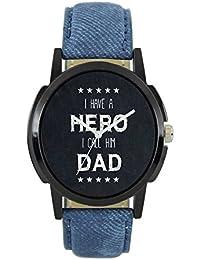 Shiv Fashion Analog Black Dial Men's Watch - WAT-W06-0007-LOREM