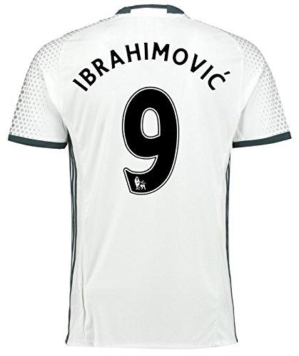 Trikot Adidas Manchester United 2016-2017 Third (Ibrahimovic 9, 140)