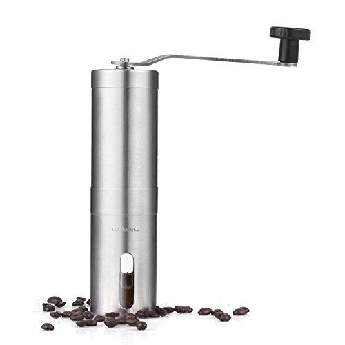 Macina caffè manuale, Luxebell Macina caffè manuale Facile da finezza regolabile e Portare Perfetta per Viaggio,Campeggio ecc.
