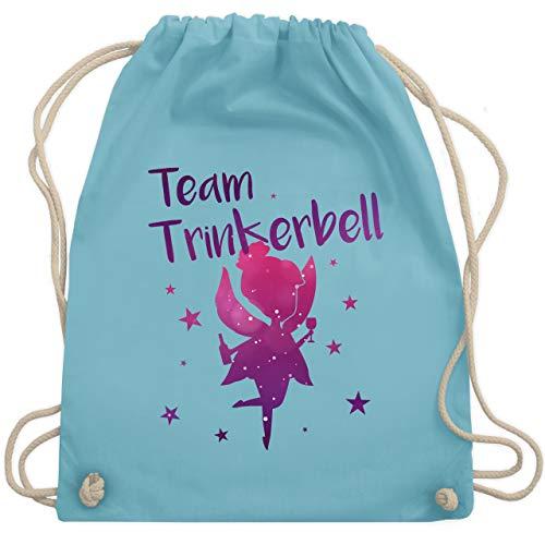 bschied - Team Trinkerbell - Unisize - Hellblau - WM110 - Turnbeutel & Gym Bag ()