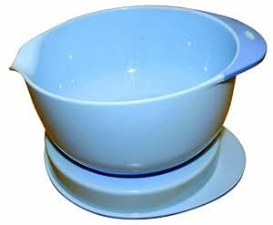 Mastrad 93211 Bol Cul de Poule et Couvercle Bleu 1,5 L