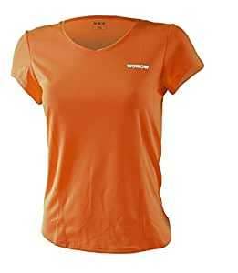 Wowow Dark 2.0 Maillot Femme Fluoro Orange S