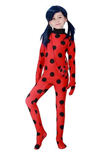 Imagen de traje disfraz ladybug carnaval halloween niña  talla s 3 4 5 años  alternativa
