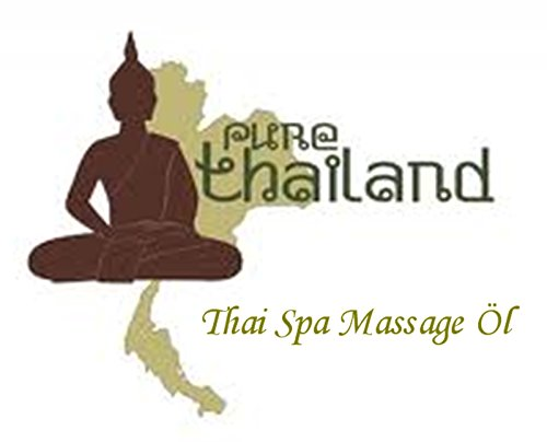 Thai Spa Massage Öl - 100ml - Massageöl aus Thailand - Thaimassageöl (Thai-massage öl)
