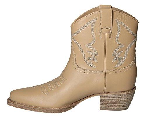 Bootines western Valentino femme en cuir Peau - Code modèle: KW2S0046 VMX 0NE Peau