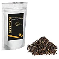 Kadambri Pure Darjeeling Long Black Tea Leaves from Himalayas | Orange Pekoe Tea Loose Leaf with Golden Tips - SFTGFOP | Orthodox Tea 500gm (250 Cups)