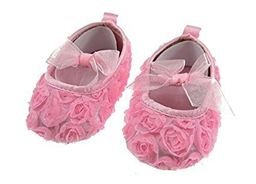 Soft Touch , Baby Mädchen Lauflernschuhe weiß 3-6 Monate Bright Pink