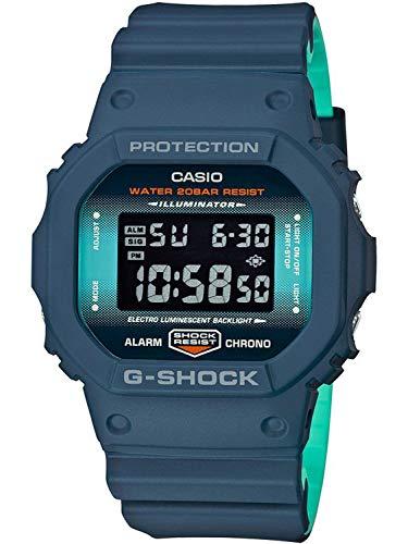 Casio G-Shock Digital Herrenarmbanduhr DW-5600CC schwarz, 20 BAR DW-5600CC-2ER