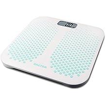 Salter SA 9096 GN3R Báscula personal electrónica Rectángulo Blanco - Báscula de baño (Báscula personal